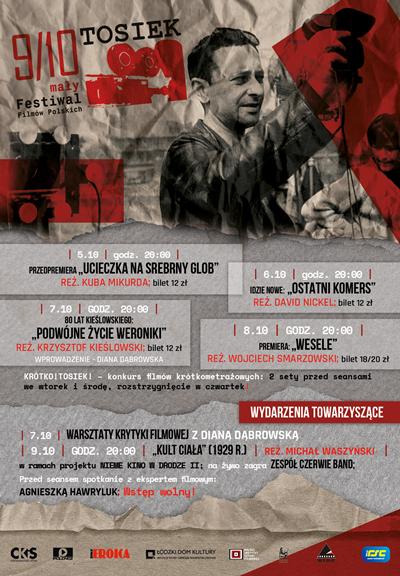 9/10. mały Festiwal Filmów Polskich TOSIEK | 5 – 9 października 2021 roku.